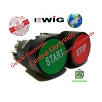 Push Button Tombol EWIG XB2 Start/Stop.