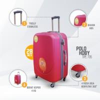 Tas Koper Travel Ukuran 28 inch Murah Polo Hoby Hardcase High Quality