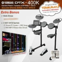 Yamaha DTX400 / DTX400K / DTX 400 / DTX 400K Drum Elektrik