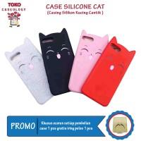 Harga Hemat Termurah Vivo Y81 Case MiaoO Cat SoftCase Motif Kucing Hp