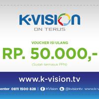 voucher K-vision Rp 50.000