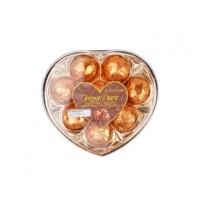 Tresor Dore Hazelnut Cream Crips Malt Wafer Ball Heart T8