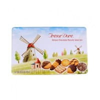 Tresor Dore Deluxe Chocolate Biscuits Selection Tin
