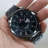 Best seller jam tangan pria swiss army ukuran diameter besar 5cm