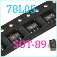 78L05 L78L05 7805 Voltage Regulator 5V 100mA SOT-89 SMD