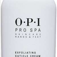 MANICURE PEDICURE: OPI PROSPA EXFOLIATING CUTICLE CREAM, 27ML