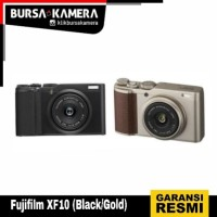 FUJIFILM CAMERA XF10 (Black/Gold)