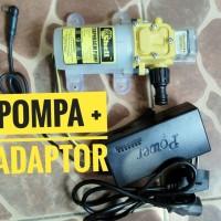 HARGA KHUSUS Paket Pompa Air DC 12 Volt High Pressure Adaptor