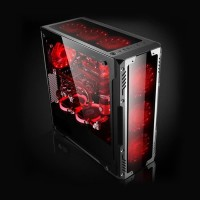 Komputer Rakitan Gaming Spyro Coffelake Red Dragon Quad Core 8100 GTX