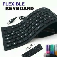 Aksesoris / aksesories komputer keyboard mini flexibel USB