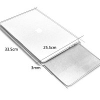 Leather Sleeve Case for Macbook Pro dan Macbook Air 13 In - blue
