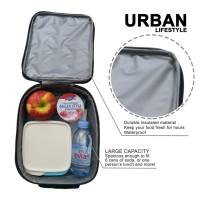 Lunch box Bag insulated URBAN Tas Bekal Kotak Cover Makan Panas Dingin