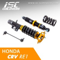 ISC COILOVERS HONDA CRV GEN-3 RE1 - BASIC SPORT