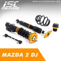 ISC Coilovers - Mazda 2 DJ
