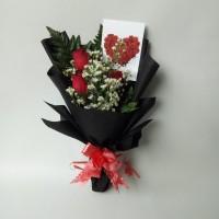 Buket Bunga / Bunga Wisuda / Kado Ulang Tahun Pacar