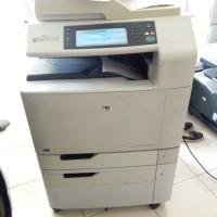 Printer hp laserjet warna CM 6040mfp bisa Fotocopy warna a3