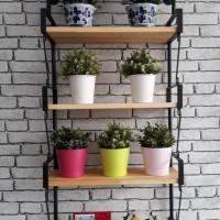 Furniture - Simplicity - Rak dinding 4 Layer Model 1 (N)