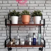 Furniture - Simplicity - Rak dinding 2 Layer Model 3 (C)