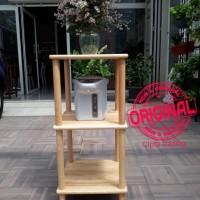 Furniture - Simplicity - Bookshelf 3 Layer Sq Rack Model 1 (N)