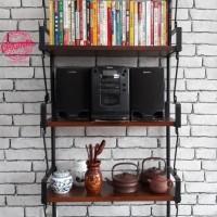 Furniture - Simplicity - Rak dinding 5 Layer Model 2 (C)