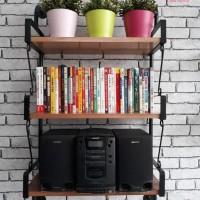 Furniture - Simplicity - Rak dinding 3 Layer Model 2 (Y)