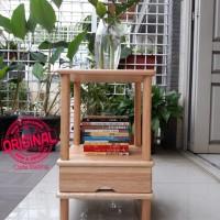 Furniture - Simplicity - Bookshelf 2 Layer Sq Rack Model 3 (N)