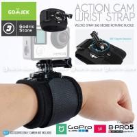 Action Cam 360 Degree Wrist Strap for SJCAM Series / GoPro AGP66108