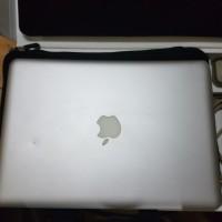 Harga mbp macbook pro 9 2 md101 2012 13inch batre baru cc 15 fullset | Pembandingharga.com