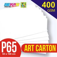 Kertas Art Carton 400 gram Plano 65 x 100 cm
