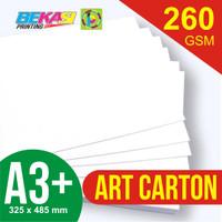 Kertas Art Carton 260 gram A3+ (32.5 x 48.5 cm)