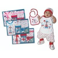 Promo Kiddy Baby Gift Set Kado Set Pakaian Bayi Bib Murah