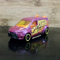 DIECAST HOT WHEELS FORD TRANSIT CONNECT HW CITYWORKS - LOOSE