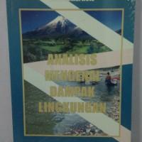 Analisis Mengenai Dampak Lingkungan Original Otto Soemarwoto