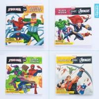 Paket Buku Cerita Billingual Marvel Avengers Versus (isi 4) Anak Story