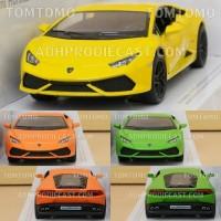 Diecast Lamborghini Huracan Miniatur Mobil Mobilan Sport Mainan Anak