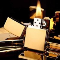 Korek Api Minyak Tanah Model Minimalis - GOLD baru