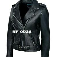 jaket kulit domba RF 0028 ladies