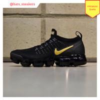 Sepatu Nike Air Vapormax Flyknit 2.0 Black Gold Premium Quality 6d0b88ec75