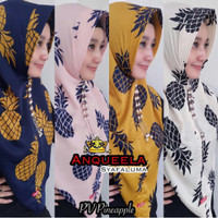 ANQUEELA HIJAB INSTAN PEVY PINEAPPLE