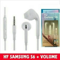 HEADSET S6 / HEADSET SAMSUNG S6 / HANDSFREE SAMSUNG S 6