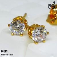 P081 Anting Xuping Yaxiya - Perhiasan Lapis Emas 18K
