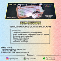 Keyboard Mouse Gaming Mejec G01 Termurah Original 100%