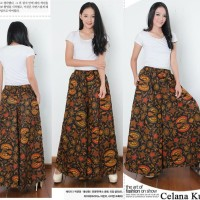 Celana Kulot Batik Jumbo Jafrina Long Pant Wanita