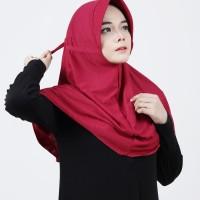 Safira Hijab Instan Pad/Ped Serut Khimar Jilbab Instan Jilbab Sekolah