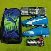 Paket Lengkap!! Sepatu Bola Puma Evospeed Kualitas Grad Ori