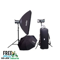 Paket studio GODOX QT600IIM-C Lighting Kit