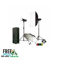 Paket Studio GODOX DP600IIC Lighting Kit