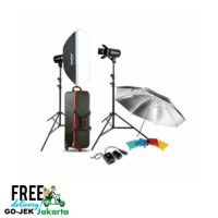 Paket studio GODOX E300-F Lighting Kit