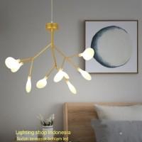 L880/9L lampu gantung hias kaca firefly decor mewah kunang 2 lighting