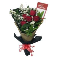 buket bunga wisuda bunga mawar asli hand bouquet florist